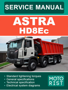 Astra HD8Ec, руководство по ремонту и эксплуатации в электронном виде (на английском языке)