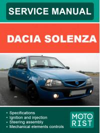 Dacia Solenza, руководство по ремонту и эксплуатации в электронном виде (на английском языке)