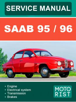 Saab 95 / 96, руководство по ремонту и эксплуатации в электронном виде (на английском языке)