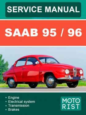 Руководство по ремонту Saab 95 / 96 в электронном виде (на английском языке)