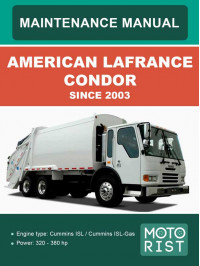 American LaFrance Condor, service and maintenance manual