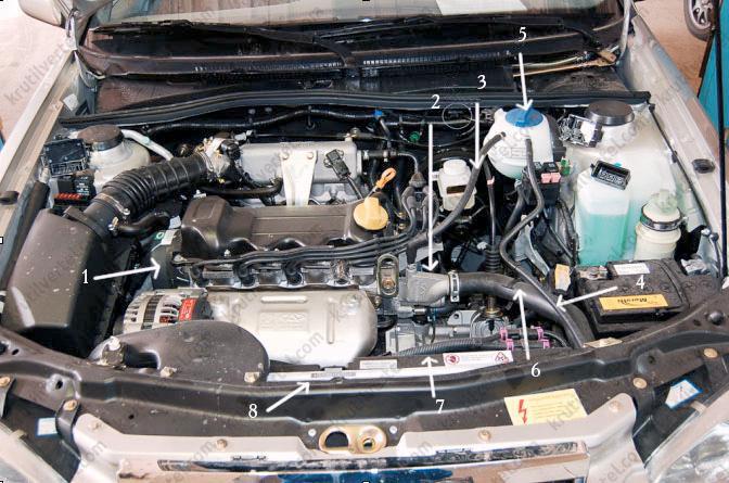 Давление в системе охлаждения двигателя чери амулет техника изготовления амулетов