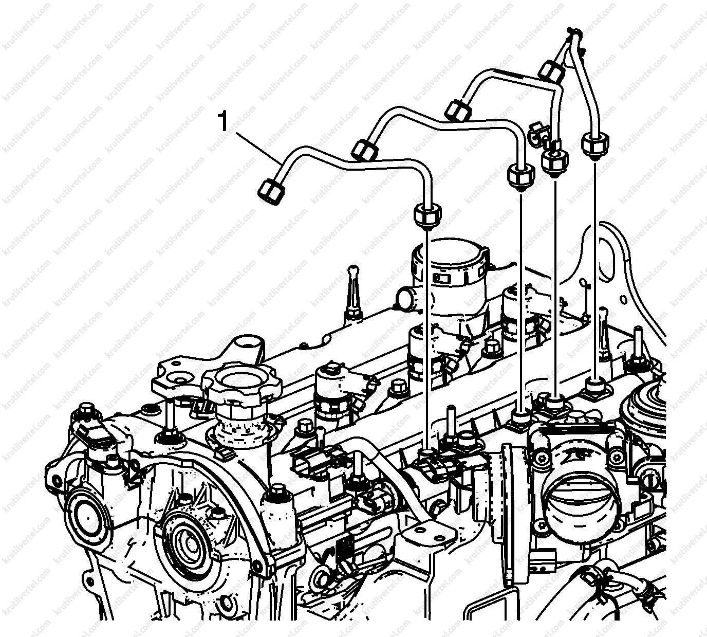 Chevrolet Trailblazer 2012, головка блока цилиндров ...