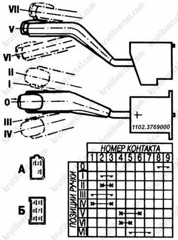 Схема переключателя света с двух мест