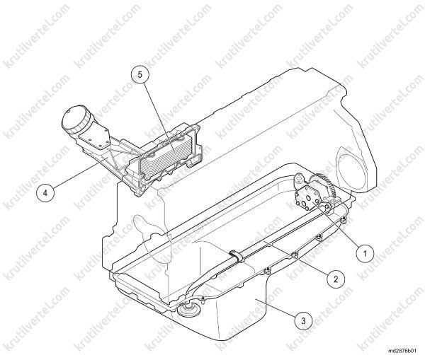 D2866 схема двигателя