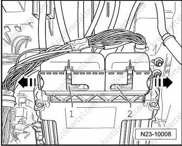 Где находится блок управления фольксваген транспортер фольксваген тди транспортер