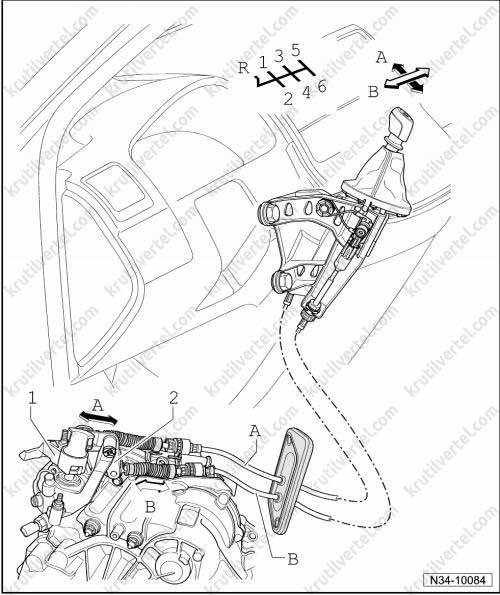 переключение передач фольксваген транспортер 5