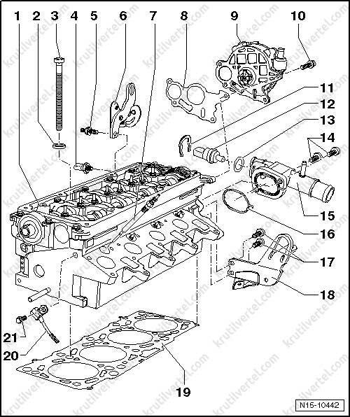 снятие гбц транспортер т5