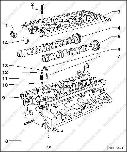 моменты затяжки фольксваген транспортер т5