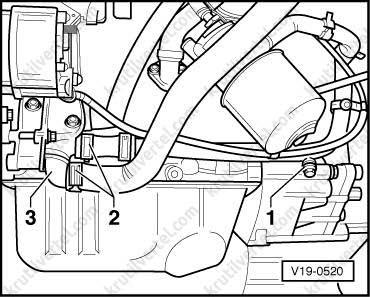 схема отопления т4 транспортер