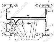 Схемы ажурных узоров с каймой