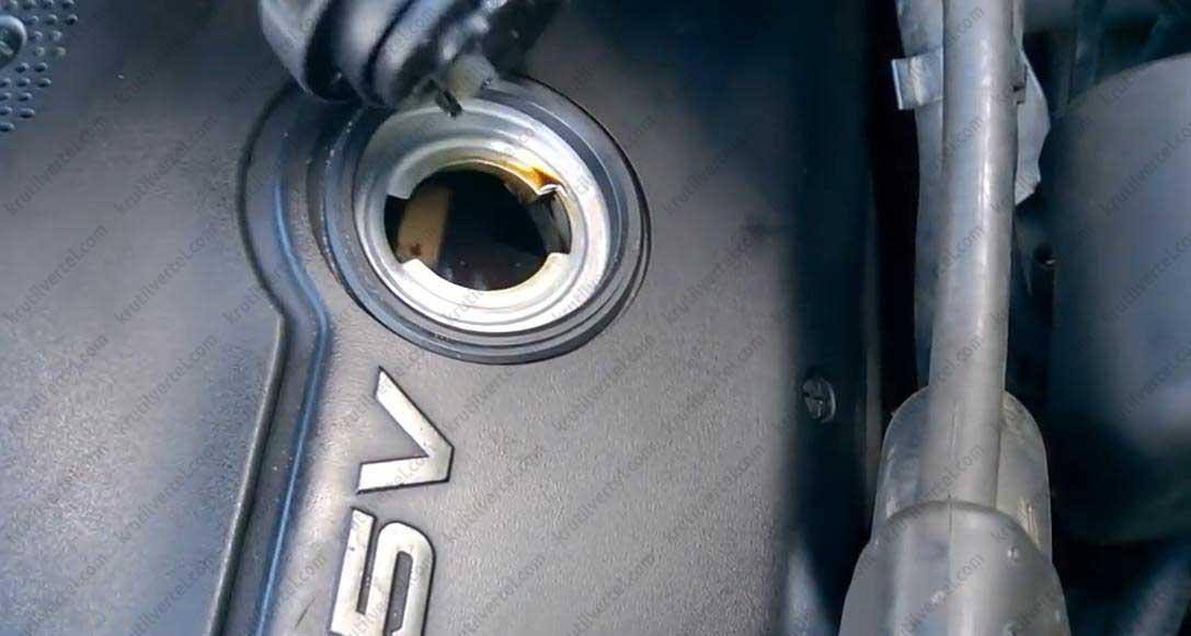 замена масла Audi А6 С5