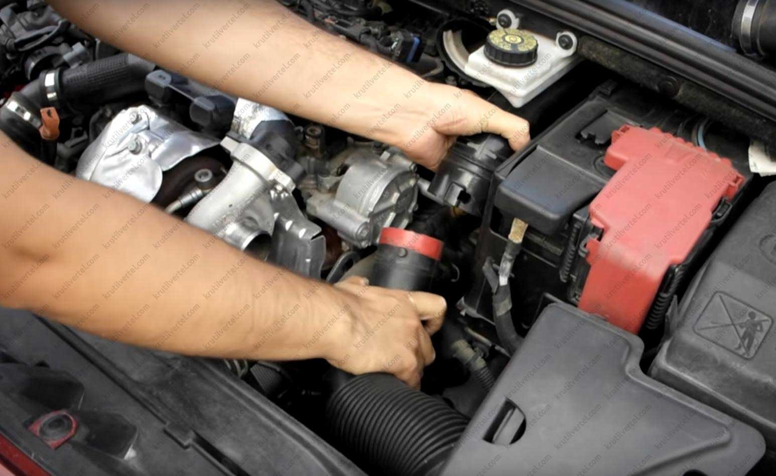 Замена масла в двигателе на пежо 308 3