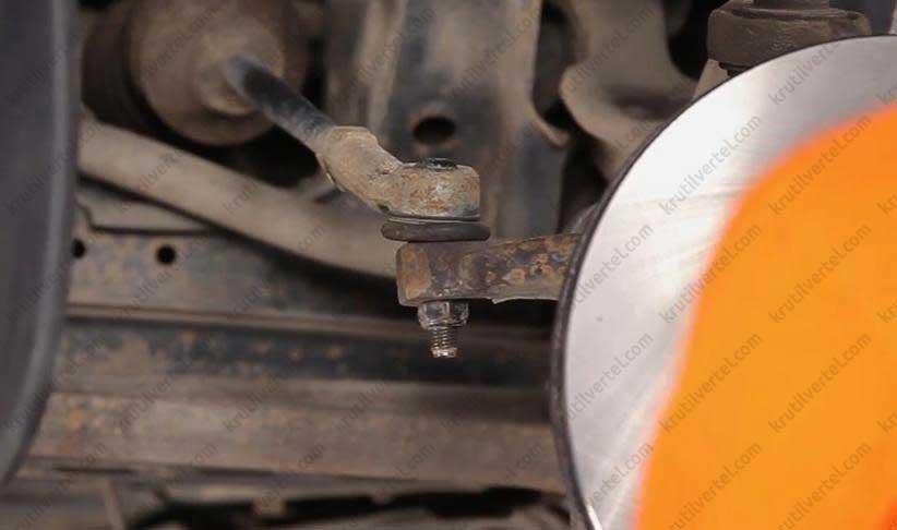 Замена рулевых тяг транспортер копейка с конвейера