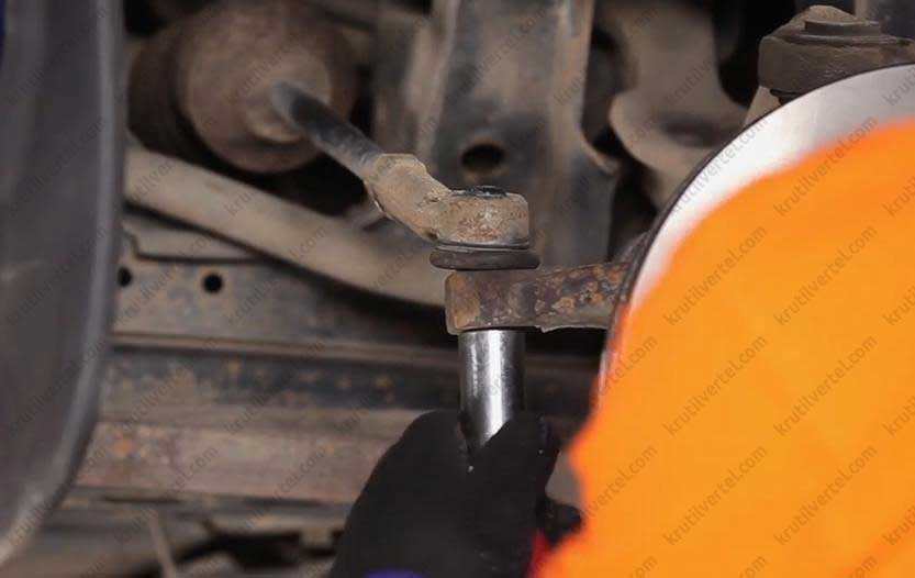 Замена рулевых тяг транспортер т4 лапка бернина верхний транспортер