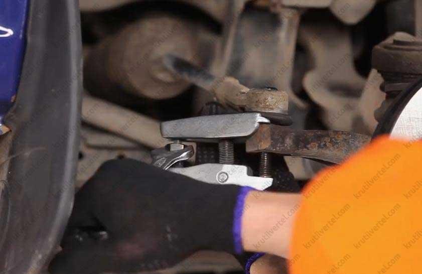 замена рулевых тяг транспортер т4