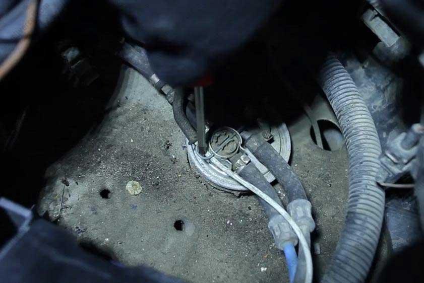 замена топливного фильтра транспортер т4