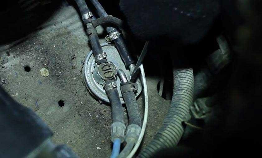 Замена топливного фильтра фольксваген транспортер элеватор зпп